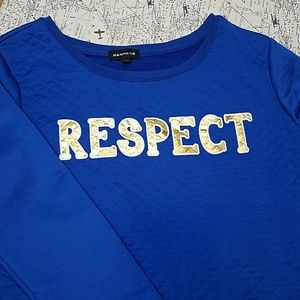 "RAMPAGE, ""RESPECT"" Sweatshirt, SzM"